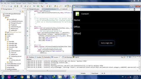 android layout context hacking forever context menu in android