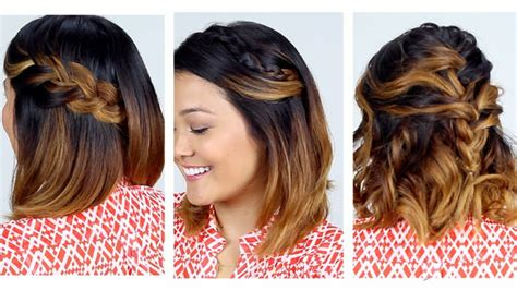 como hacer peinados para pelo corto peinados f 225 ciles pelo corto para mujeres modernas