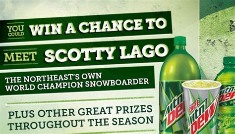 Mountain Dew Sweepstakes - mountain dew prizes sweepstakes and instant win game free ski resort tickets more
