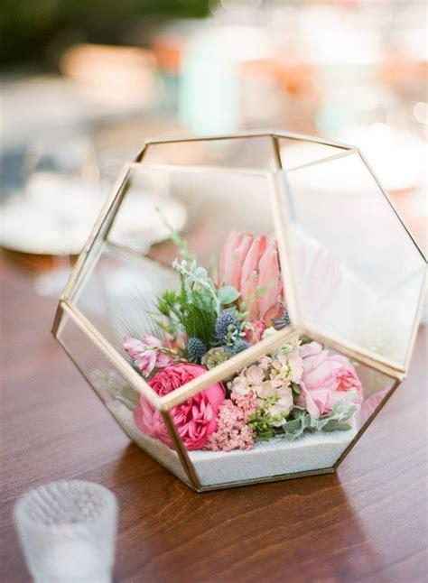 Inexpensive Hostess Gifts by 50 Glam Geometric Amp Terrarium Wedding Ideas Terrarium