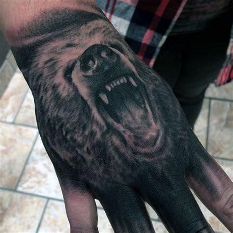 tattoo bear finger bear tattoos for men ideas and inspiration for guys
