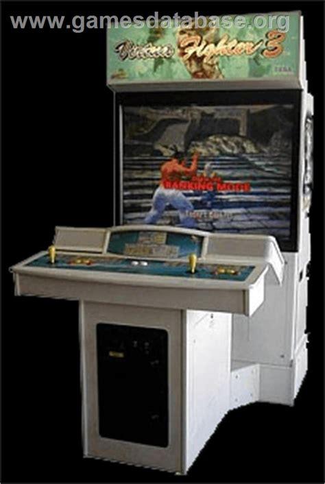 fighter 3 cabinet virtua fighter 3 team battle arcade database