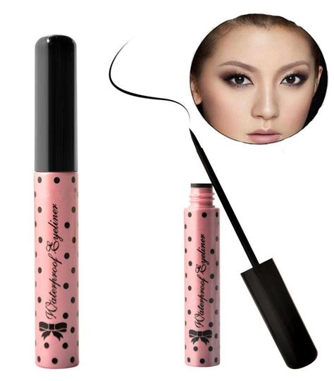 Sale Eyeliner Eyebrow 2in1kiss Beuty Gel sale black cosmetics makeup eye liner not dizzy