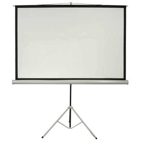Layar Proyektor Tripod 60 Projector Tripod Screen 60 x 60 portable tripod projection screen tripod projector screen