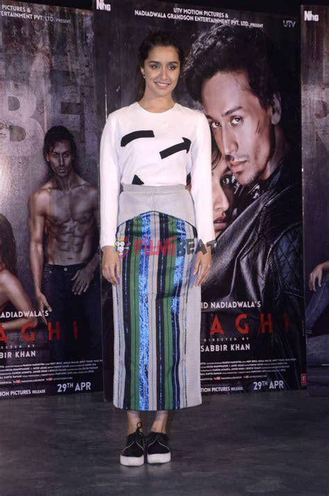 film india baaghi photos tiger shroff shraddha kapoor promotes movie