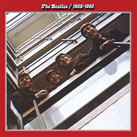 The Beatles Cd the beatles 1962 1966 album cover by the beatles