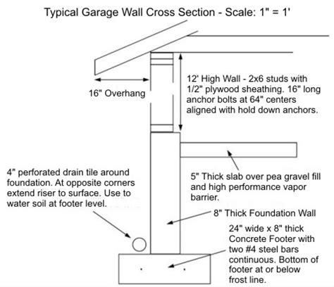 garage construction plans pdf garage construction plans plans free