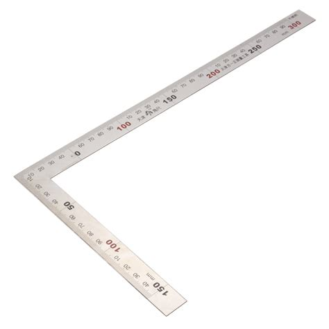 printable ruler square 150 x 300mm metric square ruler stainless steel 90 degree