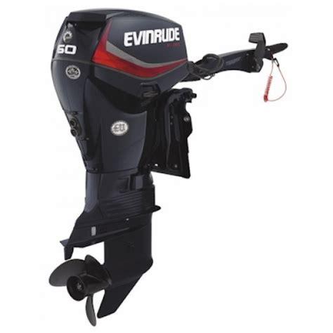 evinrude edgtl  hp  tec  stroke outboard motor  sale
