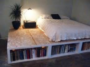 Make Platform Bed With Storage Diy Platform Bed With Additional Storage Space