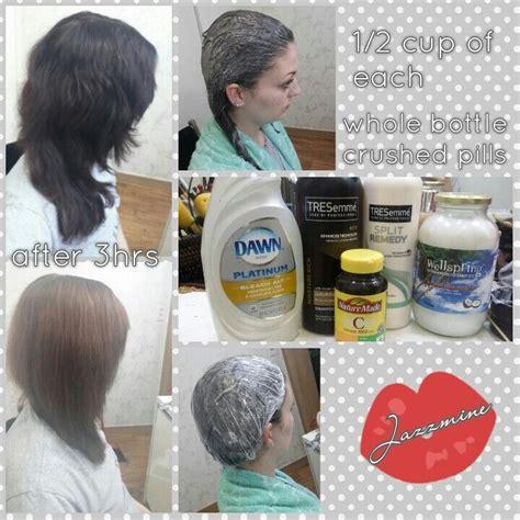 how to lighten hair with vitamin c best 25 vitamin c hair lightener ideas on pinterest