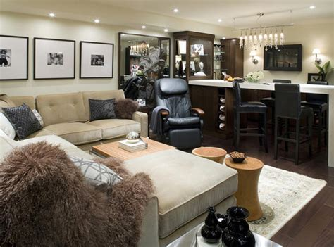 basement furniture ideas before finished basement remodeling ideas