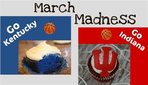 uk basketball schedule march madness basketball cupcakes for march madness hoosier homemade