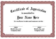 certificate template doc free certificate templates for word free
