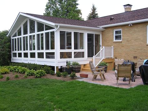 Sunroom On A Deck by Sunrooms Decks Mihalko S General Contracting