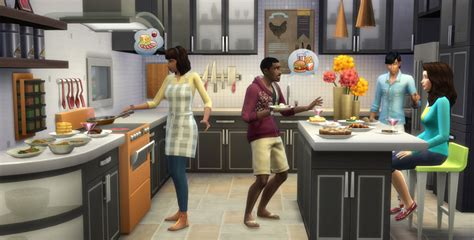 the sims 4 cool kitchen stuff pack sims
