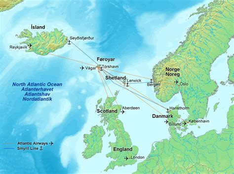 faroe islands map faroese american where in the world is the faroe islands
