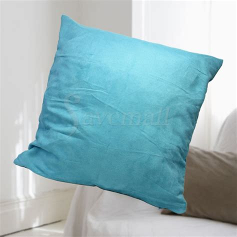 blue throw pillows for bed simple light blue bed sofa decorative throw pillow cushion