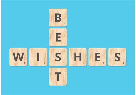 blocking in scrabble free best wishes on scrabble blocks vector free