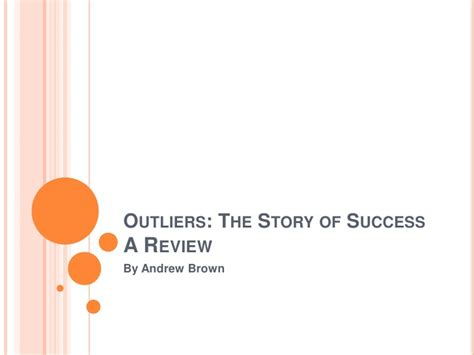 outliers the story of review of malcolm gladwell s outliers
