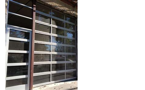 transparent garage doors transparent garage doors glasscommercial view aluminum