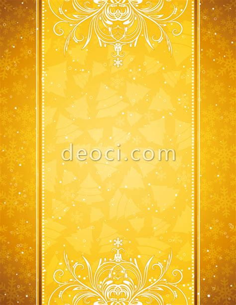 snowflake pattern card cover background design picture