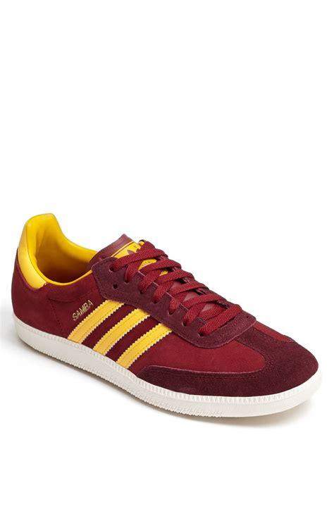Sneaker Adidas Gold adidas samba sneaker in for cardinal yellow gold lyst