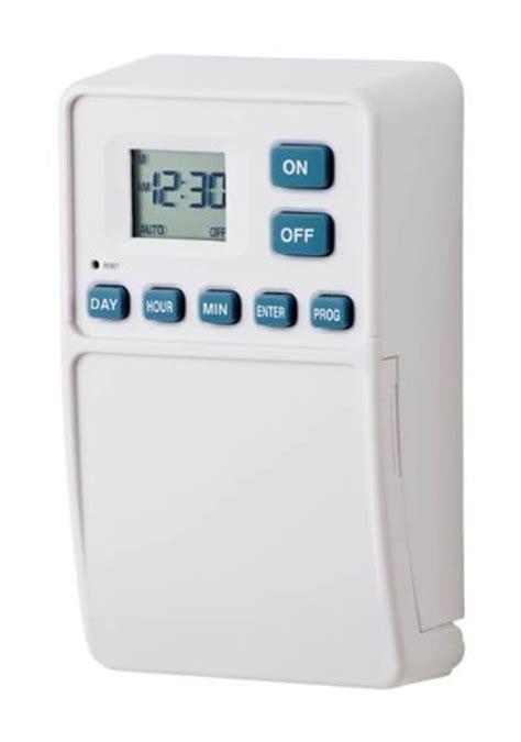 westek tmdw50 battery powered wall switch timer white