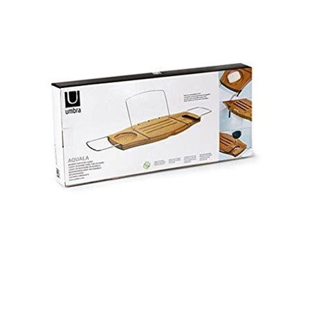 umbra aquala bamboo and chrome bathtub caddy umbra aquala bamboo and chrome bathtub caddy buy online