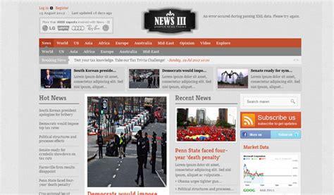 shaper news iii premium newspaper joomla 2 5 template