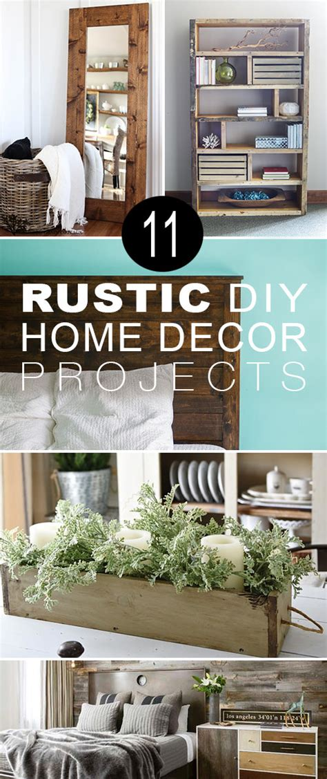 diy projects home decor 11 rustic diy home decor projects the budget decorator