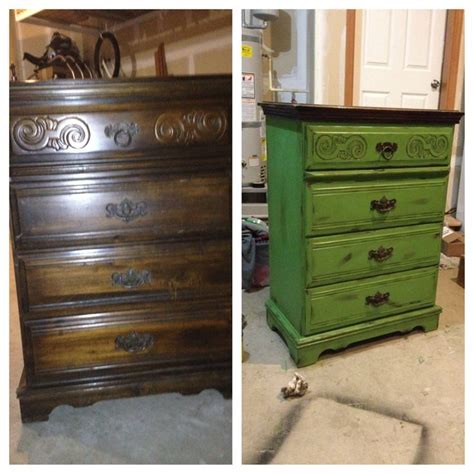 Refinished Dressers Before And After by Dresser Refinish Before And After Furniture