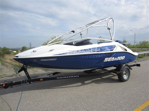 sea doo boat 215 hp sea doo speedster 200 430 hp 2008 for sale for 16 500