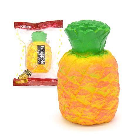 Kiibru Pinapple kiibru pineapple squishy rising fruit scented squishy 9 14cm gift sale