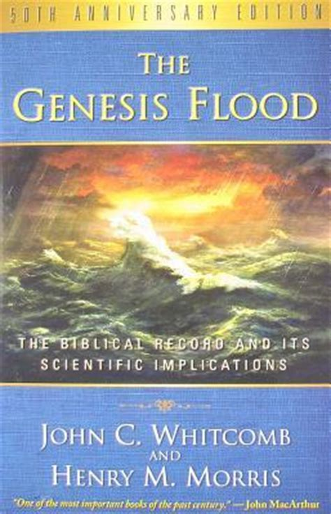 the genesis flood john c whitcomb 9781596383951