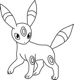 pokemon umbreon coloring pages images pokemon images