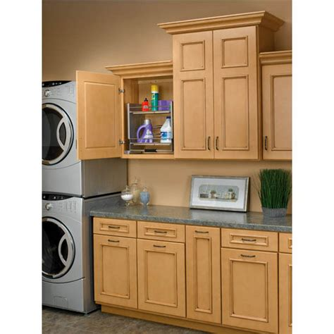 pull down kitchen cabinets rev a shelf quot premiere quot pull down shelving system for