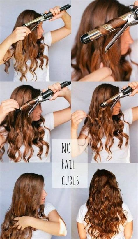 easy hairstyles using a curling wand best 25 curling iron hairstyles ideas on pinterest how