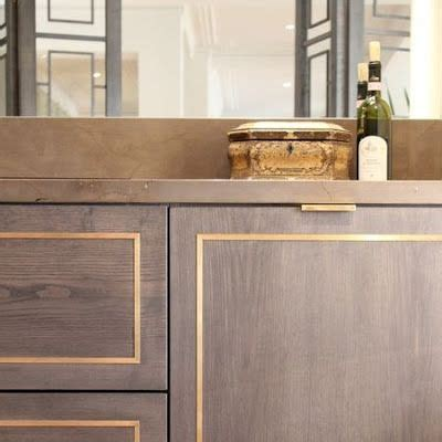 Cabinet Bras by Brass Inlay A Beautiful Cabinet Detail Home