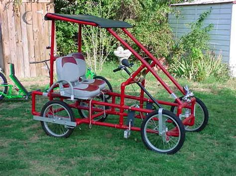 build from pvc pipe car atomiczombie bikes trikes recumbents choppers ebikes