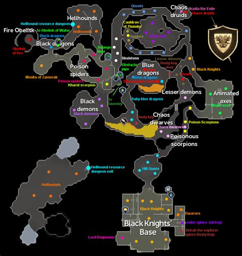 taverly dungeon osrs map newhairstylesformen2014 com taverley dungeon map runescape guide runehq