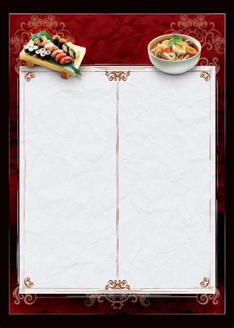 75 Best Menu Design Images On Pinterest Menu Cards Flyer Design And Food Menu Design Food Template