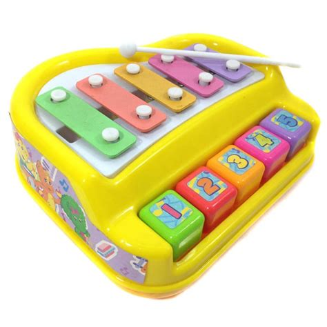 Mainan Alat Musik Xylophone Dot barney piano xylophone happy toko mainan