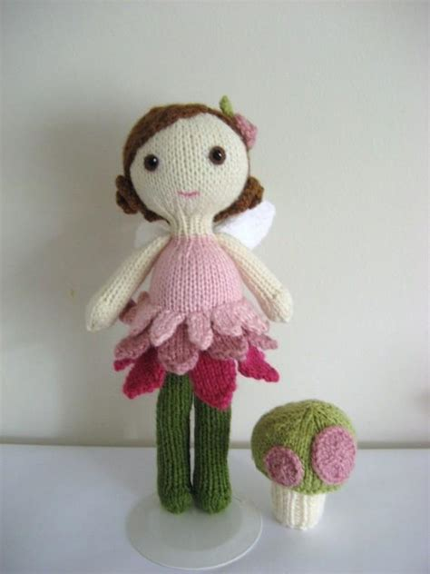 fairytale knitting patterns knit doll and pattern set by gaines