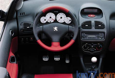 peugeot 206 convertible interior peugeot 206 cc interior image 7