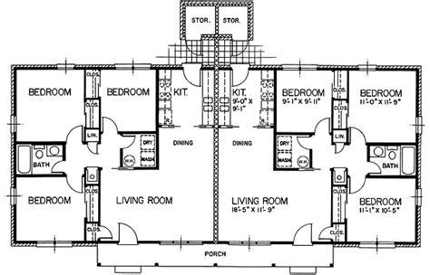 multi family apartment plans multi family plan 45446 at familyhomeplans com