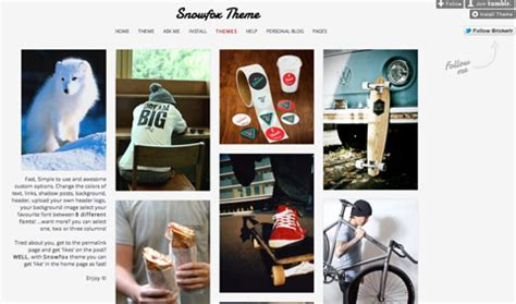 tumblr themes like optica top 10 tumblr themes that look like pinterest for awesome