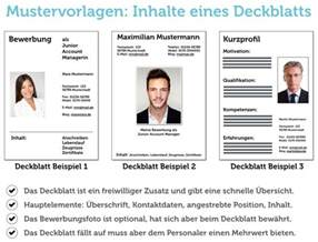 Lebenslauf Student Elektrotechnik Deckblatt Bewerbung Tipps Und Gratis Vorlagen Karrierebibel De