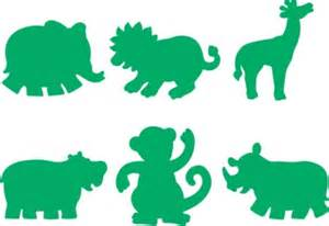 At the zoo jungle animals marbry craft supplies