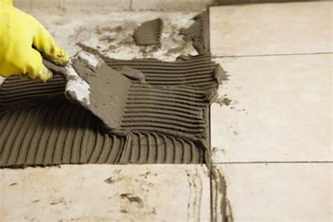 Installing Ceramic Floor Tile How To Install Ceramic Tile Bob Vila